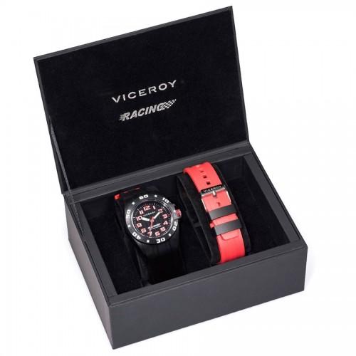 Reloj Viceroy 2 Correas Negra Roja