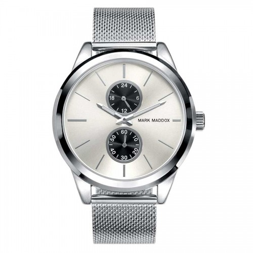 Reloj Mark Maddox Plateado Brazalete Malla