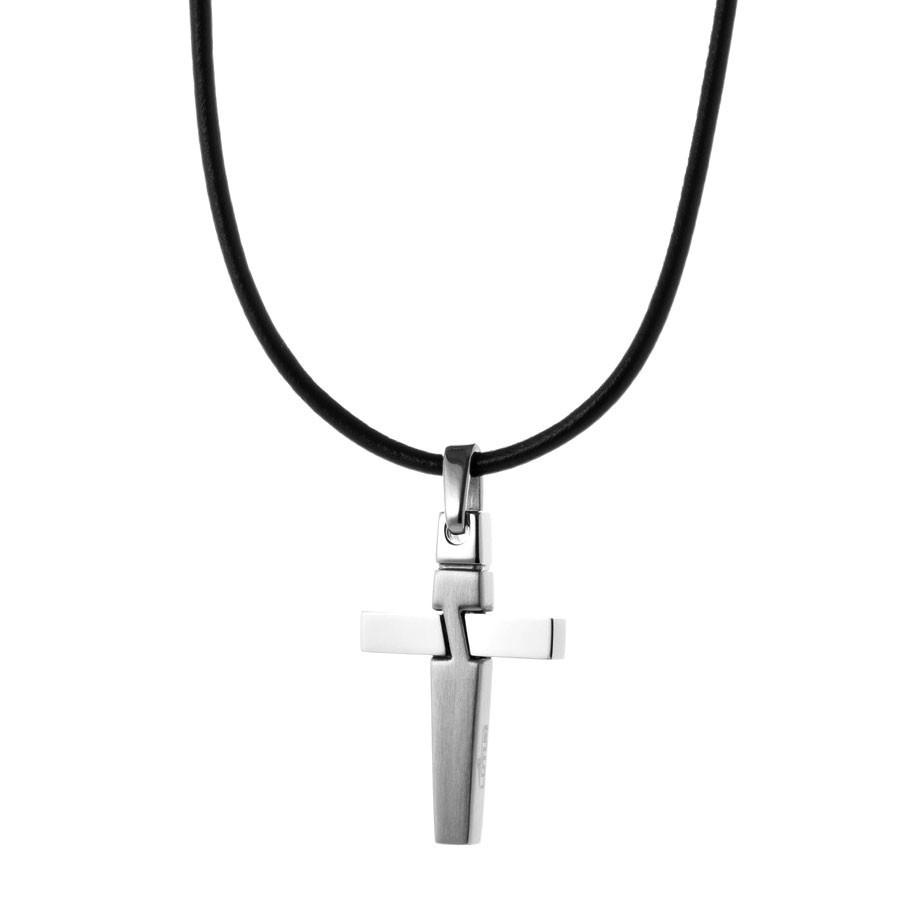 /Ónix Negro Plata Negro Modelo Dominante Griego COOLSTEELANDBEYOND iMETACLII Hombre Acero Cabeza de Le/ón Collar Colgante con Circonio C/úbico