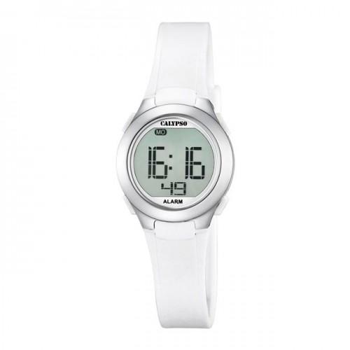 Reloj Calypso Blanco Digital