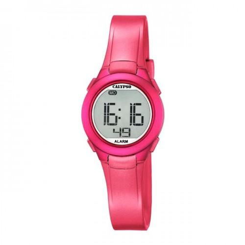 Reloj Calypso Fucsia Digital