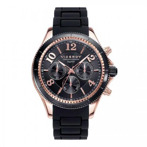Reloj Viceroy Dorado Goma Negra Penélope Cruz