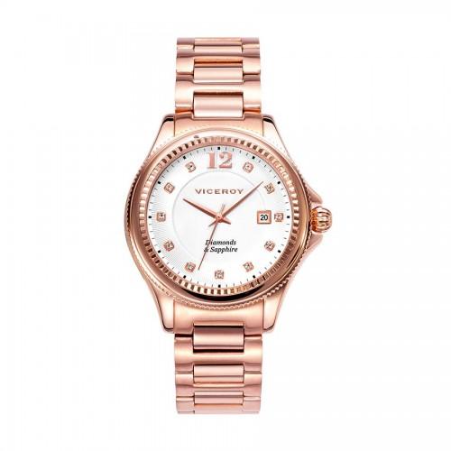 Reloj Viceroy Dorado Diamantes Brazalete Penélope Cruz