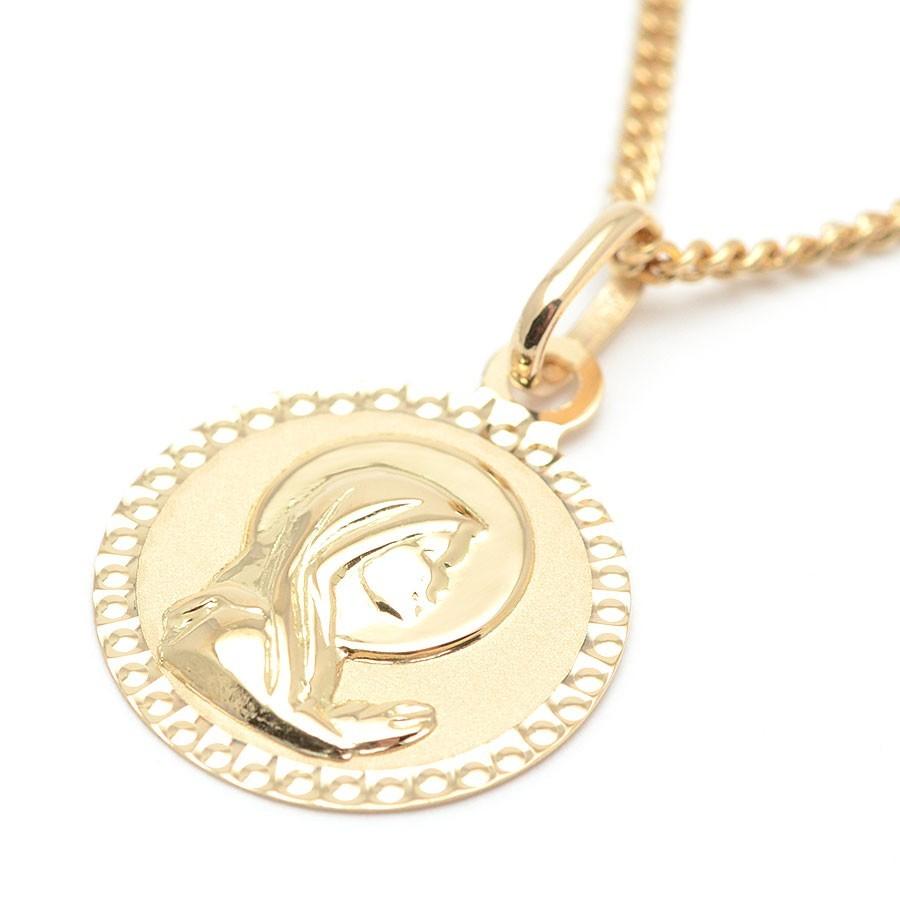 b99320f602f4 Medalla Oro Bebe Infantil Virgen Niña