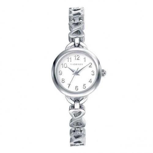 Reloj Viceroy Corazones Brazalete Acero