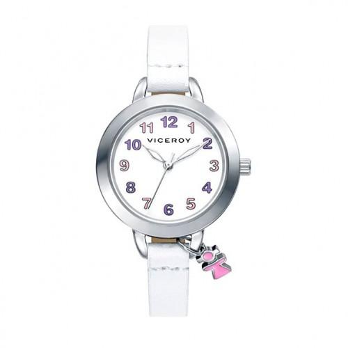 Reloj Viceroy Niña Colgante Correa Blanca