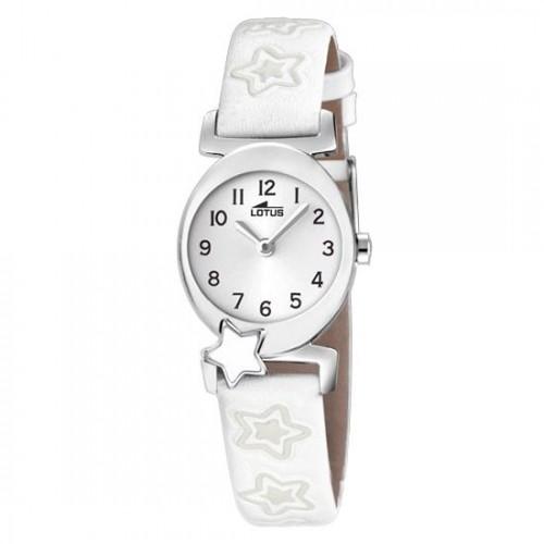 Reloj Lotus Estrellas Correa Blanca
