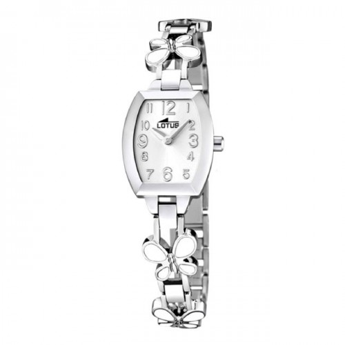 Reloj Lotus Brazalete Mariposas Blancas