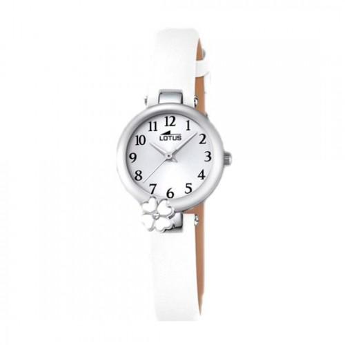 Reloj Lotus Flor Correa Blanca