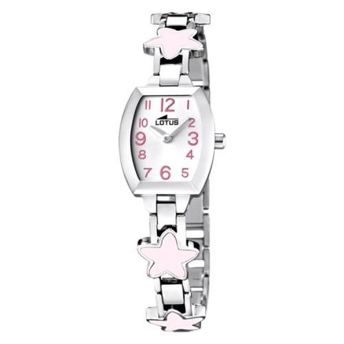 Reloj Lotus Brazalete Estrellas Rosa