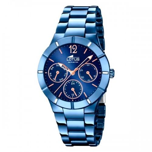 Reloj Lotus Chica Deportivo Brazalete Azul