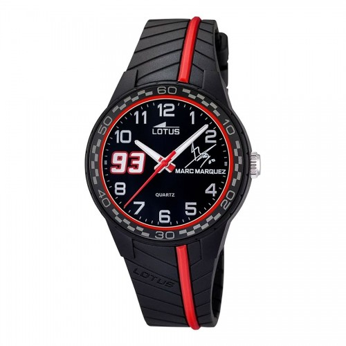 Reloj Lotus Marc Márquez Negro Rojo