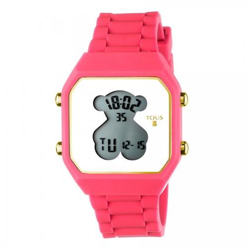 Reloj Tous D-Bear Digital Goma Fucsia