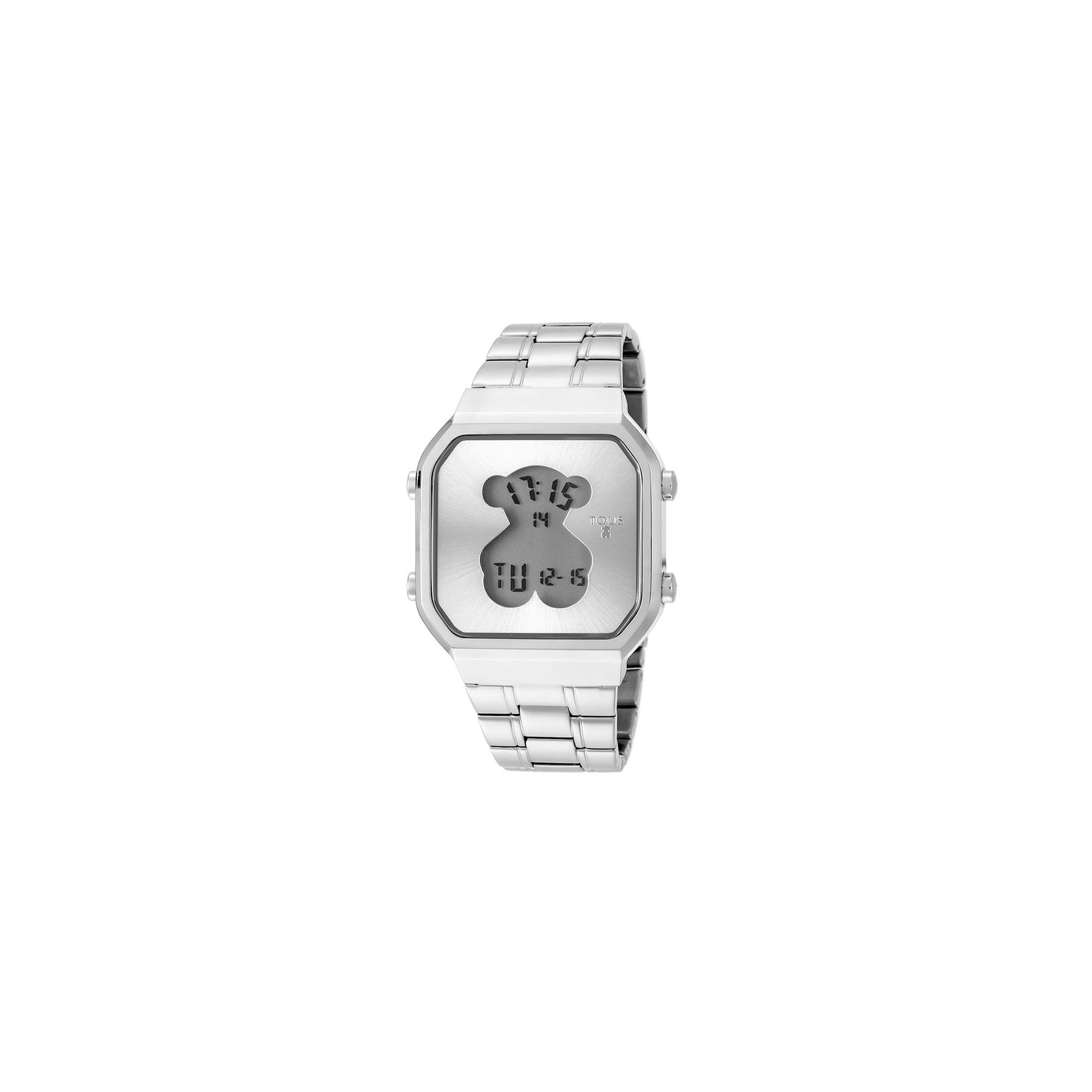 a93d51b27833 Reloj Tous Chica D-Bear Digital Brazalete Acero 600350275