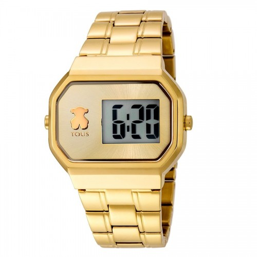 Reloj Tous D-Bear Digital Dorado Brazalete
