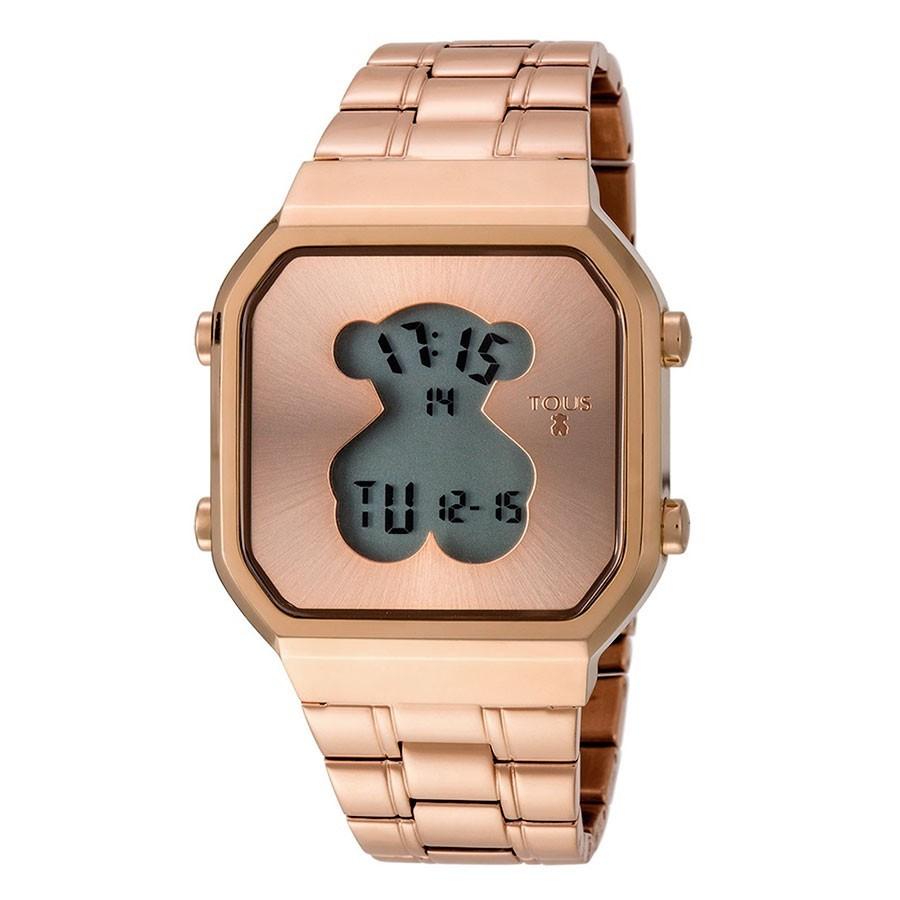 2edc4f7a40ae Reloj Tous Chica D-Bear Digital Dorado Brazalete 600350290
