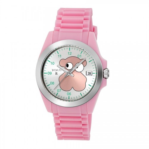 Reloj Tous Drive Fun Faces Correa Rosa