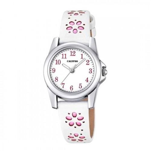 Reloj Calypso Blanco Rosa Correa Flores