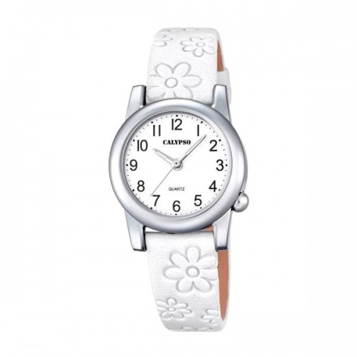 Reloj Calypso Blanco Correa Flores