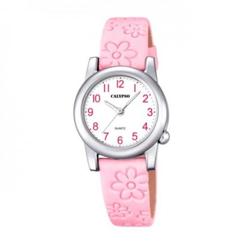 Reloj Calypso Correa Rosa Flores
