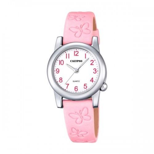 Reloj Calypso Correa Rosa Mariposas