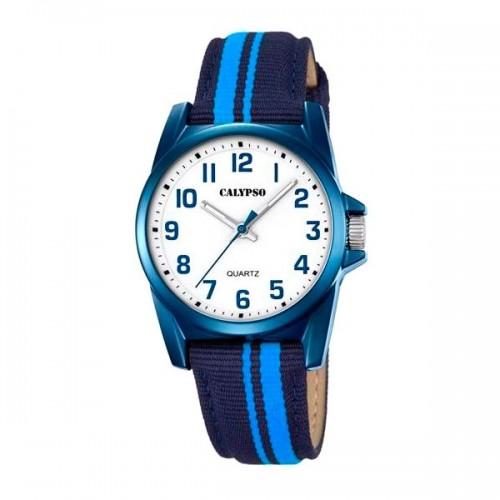 Reloj Calypso Correa Tela Azul