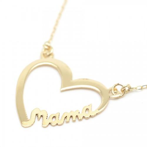 Gargantilla Oro Mamá Corazón