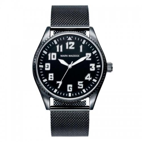 Reloj Mark Maddox Negro Brazalete Malla Negra
