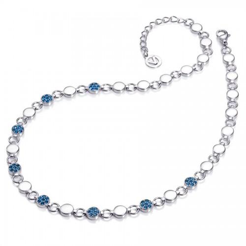Collar Viceroy Azul Círculos