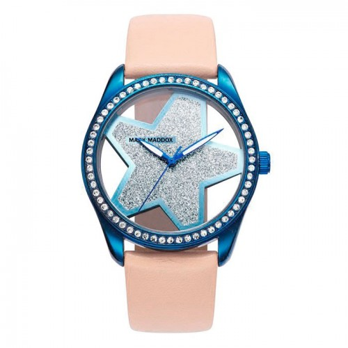 Reloj Mark Maddox Azul Estrella Correa Marrón