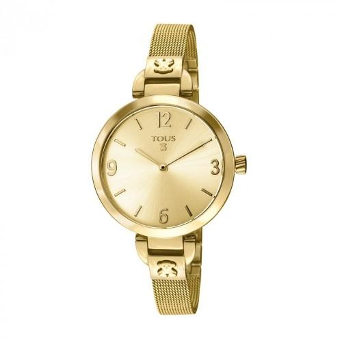 Reloj Tous Boheme Dorado Brazalete Malla