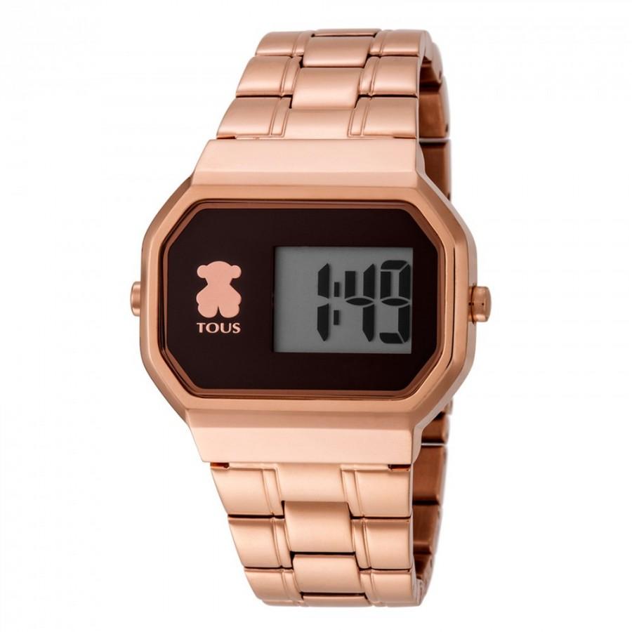 Reloj Tous D-Bear Digital Dorado Cobre Brazalete