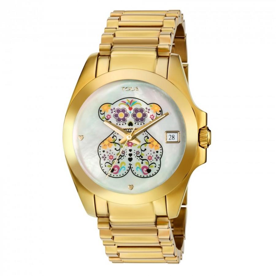 Reloj Tous Drive Sugar Dorado Brazalete
