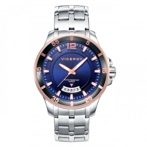 Reloj Viceroy Chico Azul Brazalete Acero