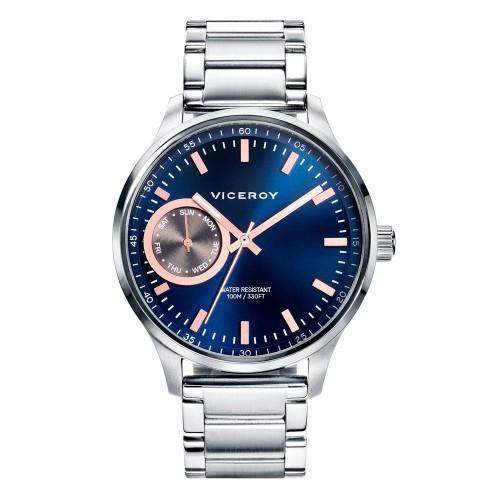 Reloj Viceroy Azul Brazalete Acero