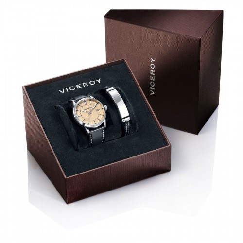 Reloj Viceroy Negro Correa Negra