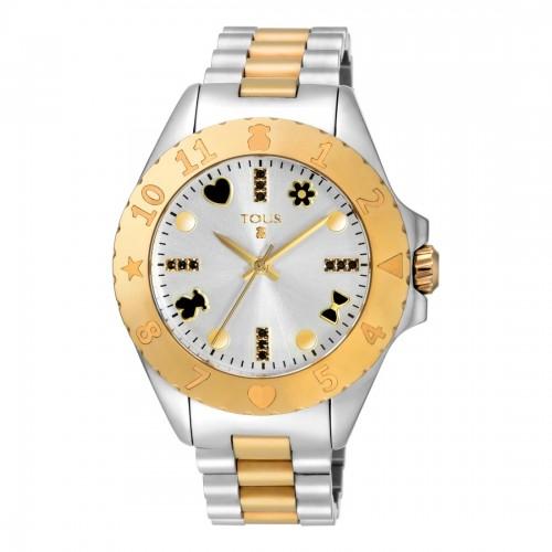 Reloj Tous New Praga Brazalete Acero Dorado