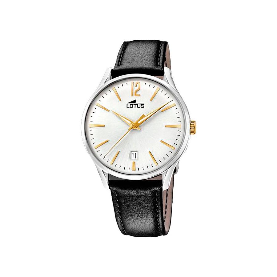 Reloj para chico Lotus vintage con correa negra 18402-1 d793b9f4977d