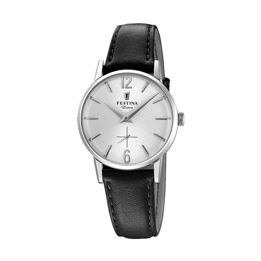 Reloj para chica Festina vintage con correa negra F20254-1 cad9e8c1456e