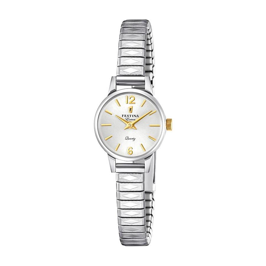 6ef52e006656 Reloj Festina vintage con brazalete de malla extensible