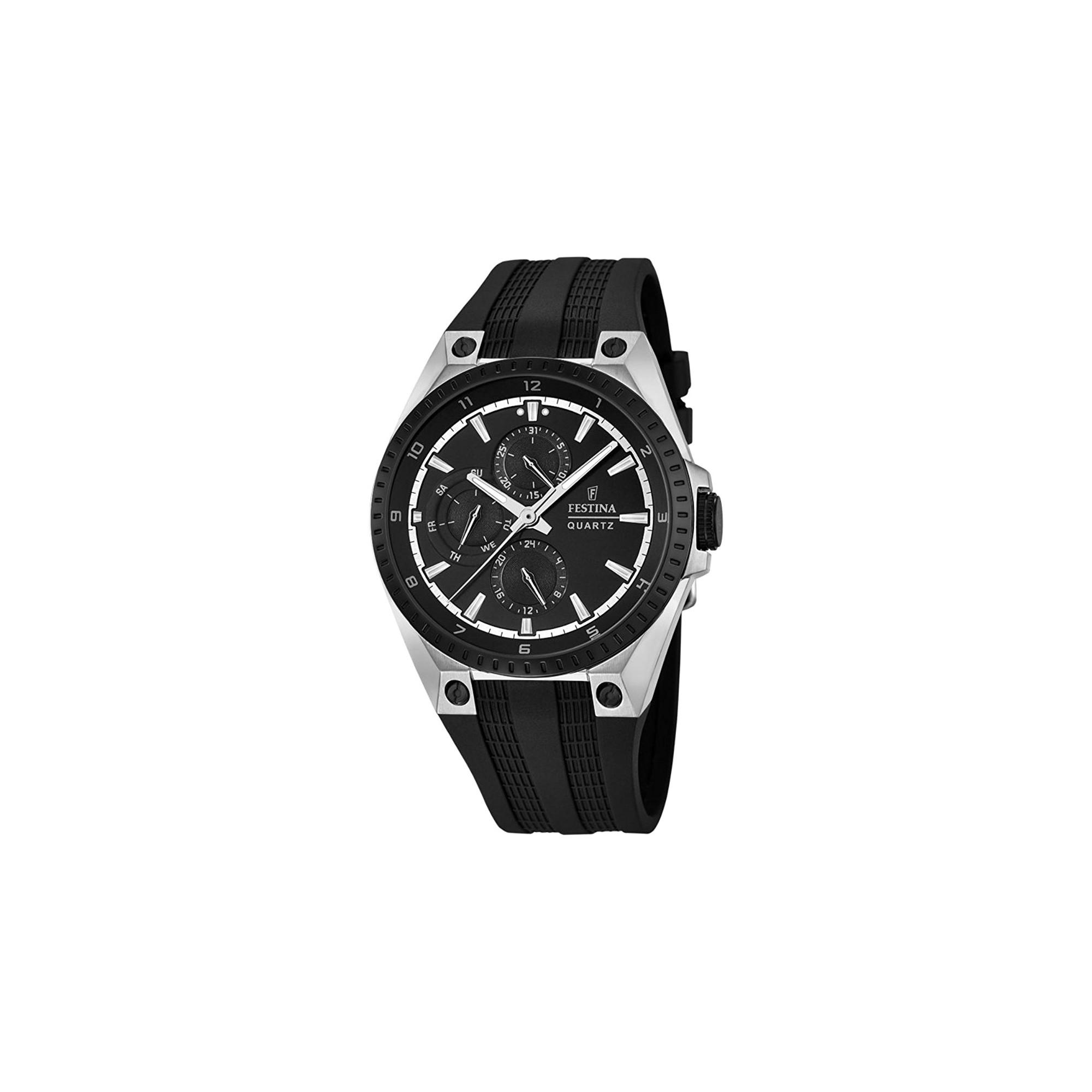 Reloj para chico Festina deportivo con correa de goma negra F16834-1 31573e71a701