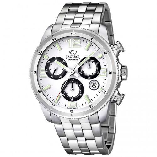 Reloj Jaguar Deportivo Brazalete Acero