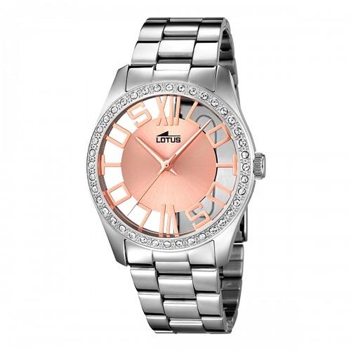 Reloj Lotus Brazalete Dorado Acero