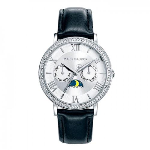 Reloj Mark Maddox Correa Plateada