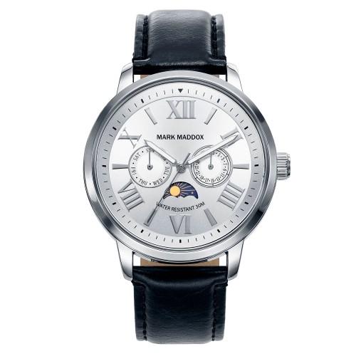Reloj Mark Maddox Cristales Correa Negra