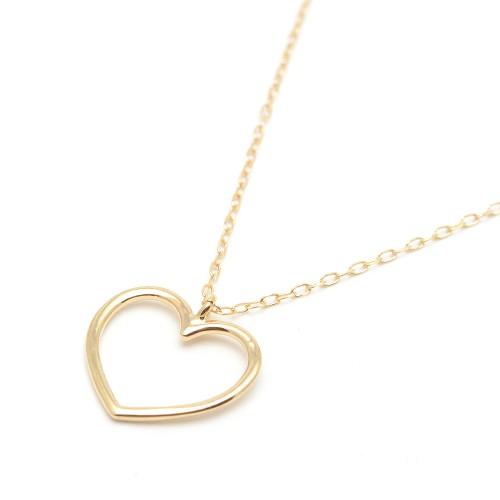 Colgante Oro Gargantilla Corazón
