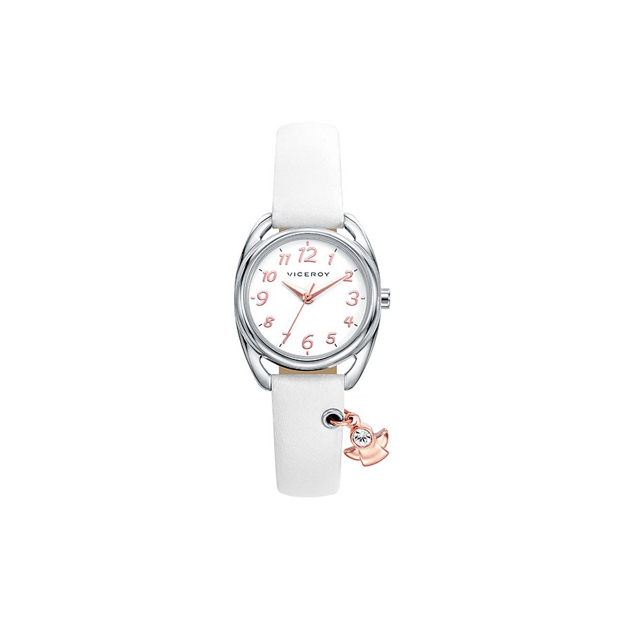 Reloj viceroy ni a comuni n blanco correa blanca for Relojes de pared el corte ingles