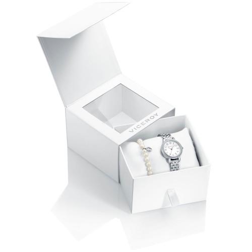 Reloj Viceroy Niña con Pulsera de Perlas