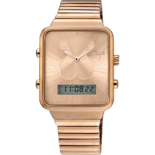 Reloj Tous Digital I-Bear Dorado Brazalete