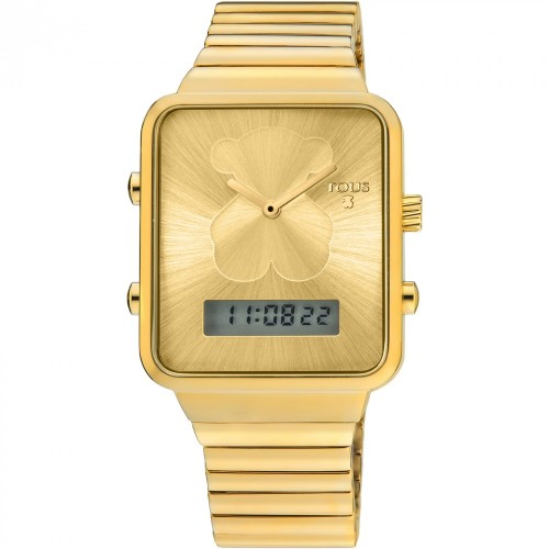 Reloj Tous Digital I-Bear Brazalete Dorado